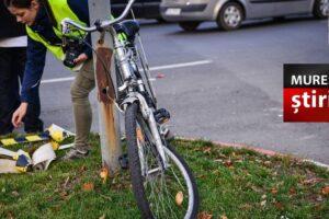un-sofer-baut-a-accidentat-grav-un-biciclist-baut,-intr-un-sens-giratoriu-din-tirgu-mures!