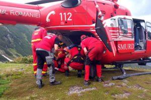 elicopterul-smurd,-chemat-in-ajutorul-unui-turist-in-muntii-fagarasului