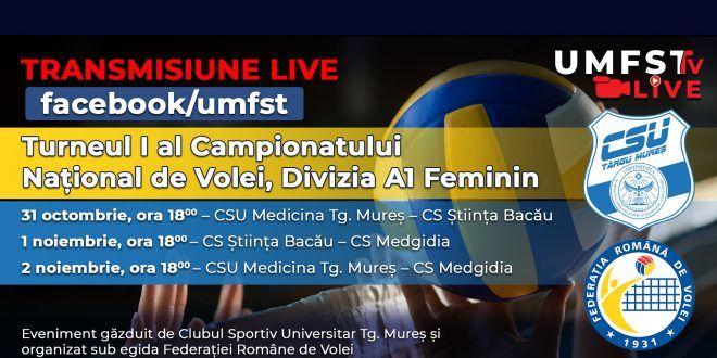 turneul-i-al-campionatului-national-de-volei,-divizia-a1-feminin,-la-umfst