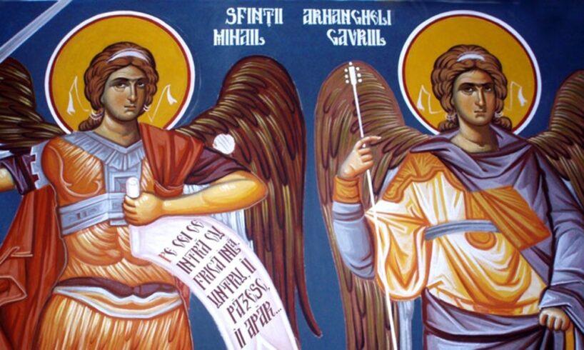 duminica-sunt-celebrati-sfintii-arhangheli-mihail-si-gavriil