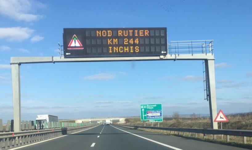 restrictii-rutiere-impuse-pe-autostrada-a1-sibiu-deva,-din-cauza-carantinei