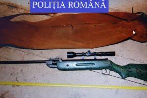 arme-ilegale-gasite-de-politisti-intr-o-locuinta-din-sighisoara