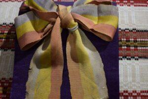 mures:-esarfa-tricolora-purtata-la-alba-iulia-in-1918,-restaurata-pentru-o-expozitie-speciala