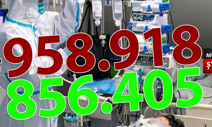 ora-13:00-bilantul-oficial-al-cazurilor-de-coronavirus-–-1-aprilie-2021!-6.115-de-noi-cazuri