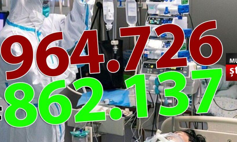 ora-13:00-bilantul-oficial-al-cazurilor-de-coronavirus-–-2-aprilie-2021!-5.808-de-noi-cazuri