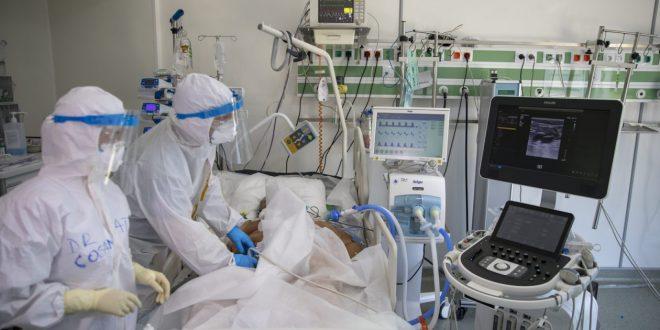 numar-mare-de-pacienti-cu-covid-19-internati-in-mures