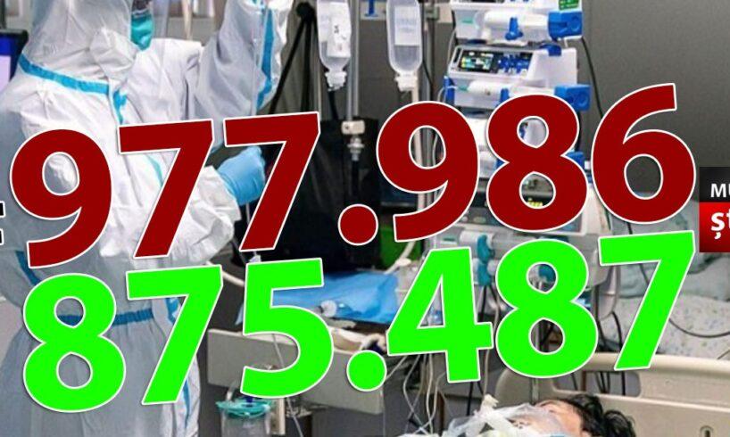ora-13:00-bilantul-oficial-al-cazurilor-de-coronavirus-–-5-aprilie-2021!-3.611-de-noi-cazuri