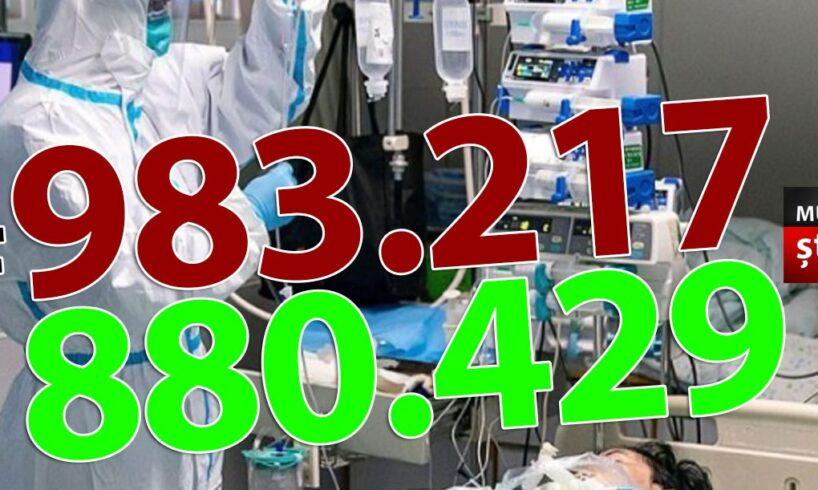 ora-13:00-bilantul-oficial-al-cazurilor-de-coronavirus-–-6-aprilie-2021!-5.231-de-noi-cazuri