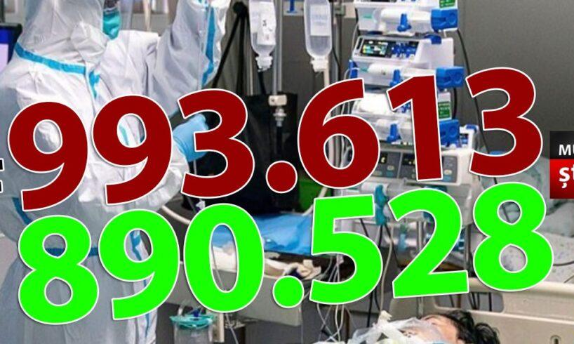 ora-13:00-bilantul-oficial-al-cazurilor-de-coronavirus-–-8-aprilie-2021!-4.989-de-noi-cazuri
