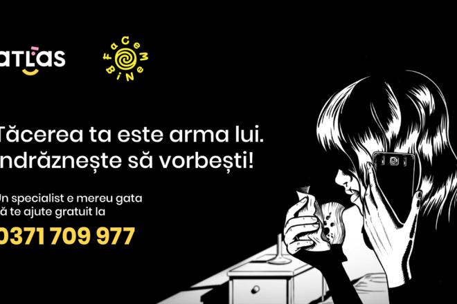 Facem Bine și ATLAS lansează un helpline pentru victimele violenței 1